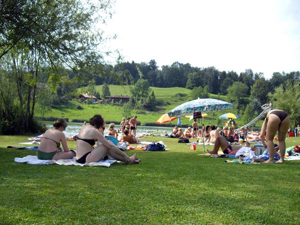 Wössner See (5) - Rund um den Wössner See (Bild 5)