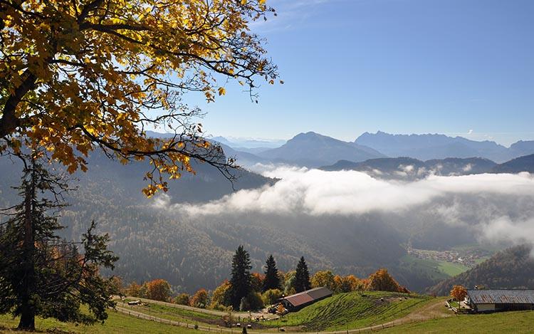 Paket Herbstzauber (Berge) Gästehaus Pöppl
