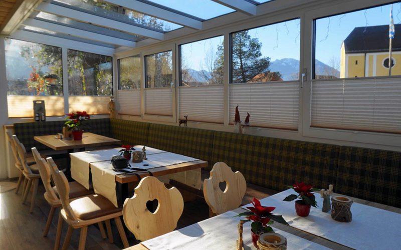 Gästehaus Pöppl Frühstücksraum