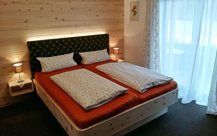 Gästehaus Pöppl Zimmer 01 Rechenberg Schlafen (1)